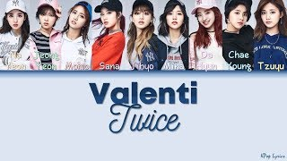 [BoA Cover] TWICE (트와이스) - Valenti (Color Coded Lyrics) [HAN/ROM/ENG]