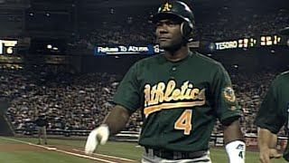 Miguel Tejada Gets A Grand Slam, Hits For The Cycle In 2001