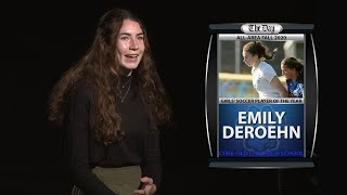 Emily DeRoehn - All-Area Girls' Soccer Player of the Year