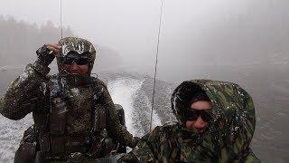 Рыбалка на реке менза