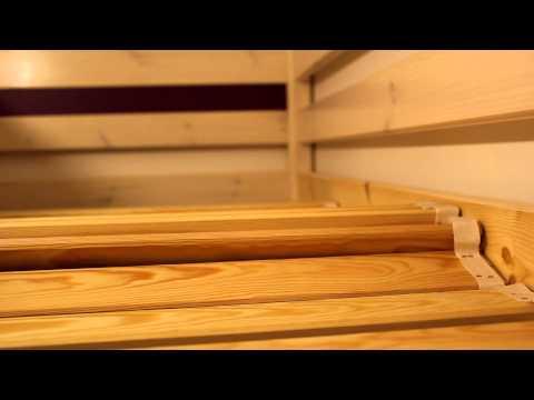 Kinderhochbett Trendy Teil 20/40: Den Rollrost auflegen