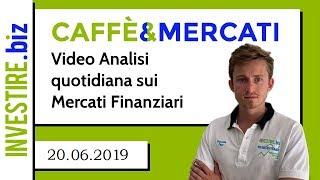 Caffè&Mercati - Nuovi minimi di periodo per USD/CAD
