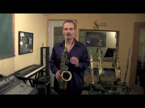Lesson on How to Get a Great Sound on the Saxophone. In this lesson I give some tips on how to quickly and dramatically change your sound.