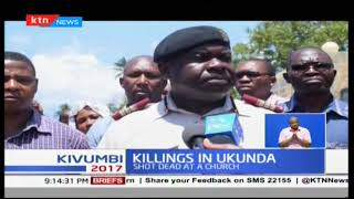 Killings in Ukunda :Two police officers shot dead
