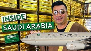 Flying Saudia to Riyadh – Inside the Kingdom of Saudi Arabia (Vlog 1)