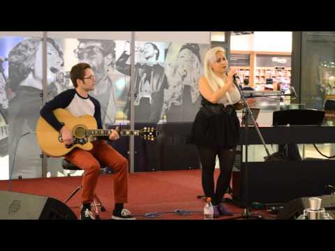 Paramore - The Only Exception (cover) [live @ Westfield London]