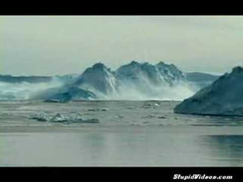 iceberg collapse shows danger of getting too close in a relationship