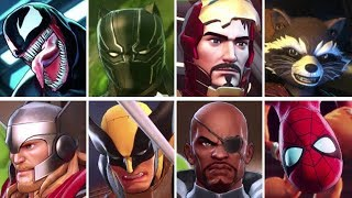 Marvel Ultimate Alliance 3: The Black Order - All Character Intros
