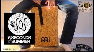 Too Late - 5 Seconds Of Summer (5SOS) Cajon Cover Acoustic   Cajon Covers