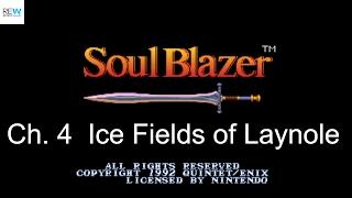 (SNES) Soul Blazer - Ch.4 Mountain of Souls & Ice Fields of Laynole (054)