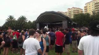 When Dreams Become Nightmares - Abandon All Ships (Live @ Warped Tour - St. Pete, July 31st  2011)