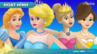 Nàng Công chúa và Hạt Đậu và 4 câu chuyện công chúa