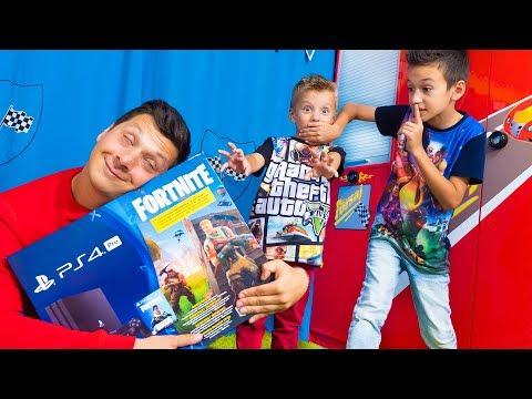 ПЕРЕВОСПИТАЛИ Артура и Давида! Не БУДЕТ Больше  Fortnite  и PlayStation 4 Pro!