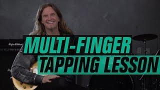 Joel Hoekstra - The Greatest Finger Tapping Lesson Ever!