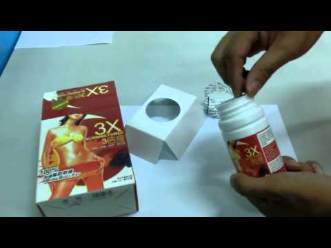 Slimming capsule gana suppressant