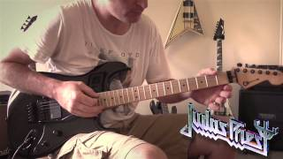 Judas Priest - A Touch Of Evil Guitar Cover