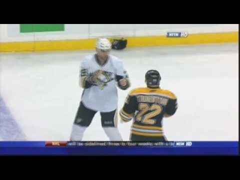 Shawn Thornton vs. Eric Godard