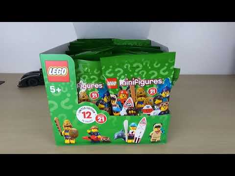Vidéo LEGO Minifigures 71029 : Série 21 - Sachet surprise