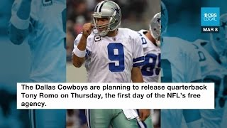 Cowboys Ready To Release Romo On Thursday