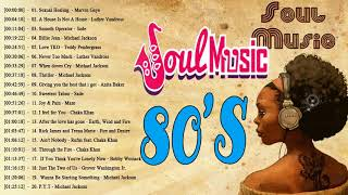 The 100 Greatest Soul Songs of the 1980s || Best Soul Songs of The 80's || Soul Music 80's Playlist