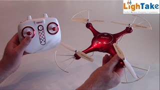 SYMA X5UW 720P WIFI FPV With 2MP HD Camera Review - Test video - Lightake