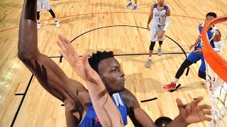 Jerami Grant with the MONSTER JAM!