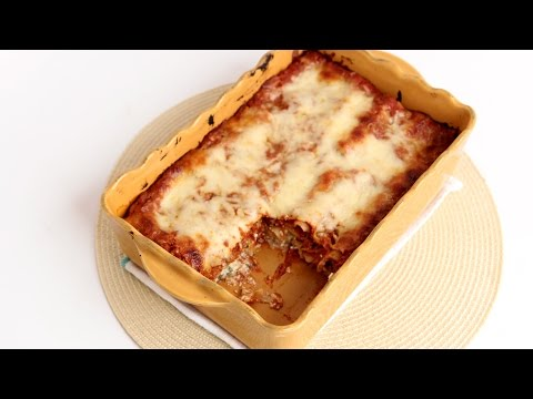 Veggie Lasagna Rolls Recipe - Laura Vitale - Laura in the Kitchen Episode 800