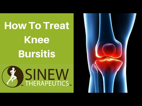 Video How To Treat Knee Bursitis and Speed Recovery
