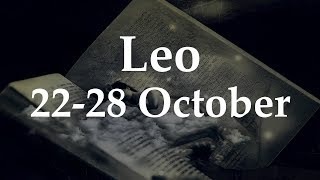 Leo Weekly Tarot 22-28 October 2018  - Aquarian Insight