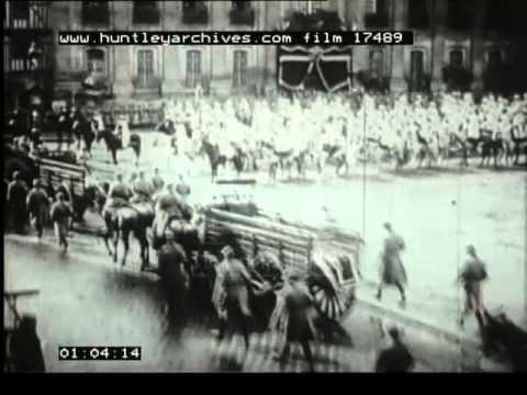 Airship R101 Crash, 1930's - Film 17489