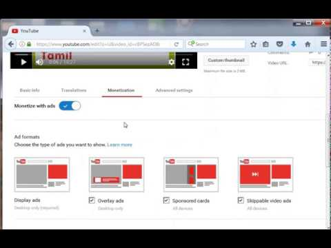 How to add more ads in your youtube videos - Tamil YouTube Tricks