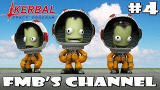 Kerbal Space Program #4 Walking On The Mun