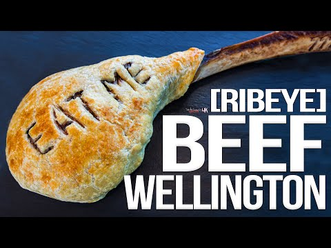 Beef Wellington (with a 3lb Tomahawk Ribeye!) | SAM THE COOKING GUY 4K