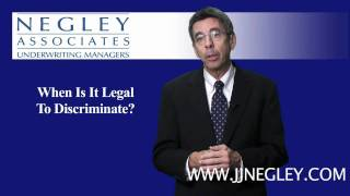 When Is It Legal To Discriminate?