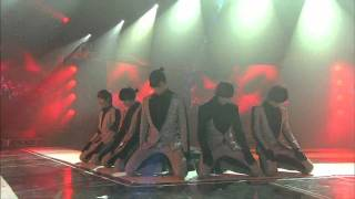 2PM - Tired of waiting + Heartbeat @ SBS Inkigayo 인기가요 100110