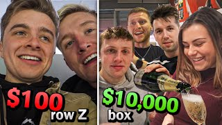 $10,000 vs. $100 Football Tickets ft. Sidemen