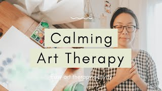 Calming Art Therapy Activity