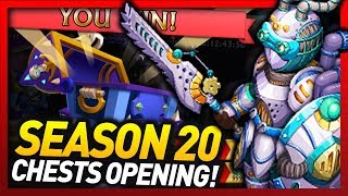 Knights and Dragons - 52 Cloud Automaton Opening!! Season 20 Shadowforged Chest Opening!