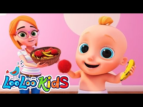 🍏Apples and 🍌Bananas - LooLooKids LEARNING LETTERS SONG