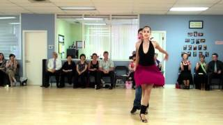 Dancing Like the Stars Season 2 Egor Belashov with student Stefanie