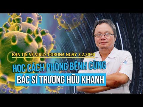 Bác sĩ Trương Hữu Khanh hướng dẫn cách phòng lây nhiễm