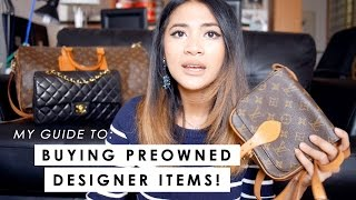 PART 1   HOW TO BUY AUTHENTIC PRE-OWNED BAGS (WHERE + AUTHENTICATING)