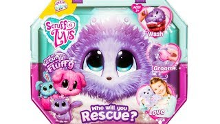 Little Live Pets Lilac Scruff a Luvs Unboxing Toy Review Limited Edition Bunny