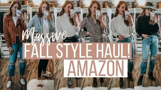 THE BIGGEST AMAZON FALL CLOTHING HAUL! 25+ PIECES!   Moriah Robinson