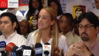 Lilian Tintori: Maduro ratificó su dictadura con la sentencia de apelación a López