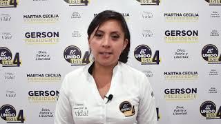 Andrea Navarrete, Candidata Asambleísta del Ecuador 2021.