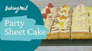 Best Ever Party Sheet Cake