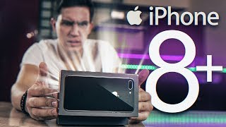 iphone 8+ Распаковка и первое впечатление + конкурс