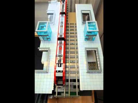 LEGO Prototyp der neuen Augsburger Straßenbahnhaltestelle unter dem Bahnhof - weitere Bilder