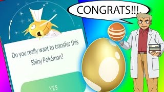 Download Youtube: WHAT HAPPENS IF YOU TRANSFER SHINY MAGIKARP??? THE GOLDEN MISTAKE  in Pokemon Go
